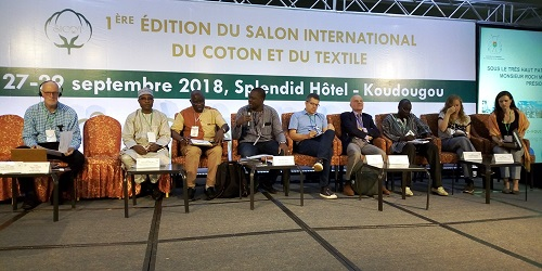 Salon international du coton et du textile (SICOT) : Catholic Relief Services valorise le coton biologique